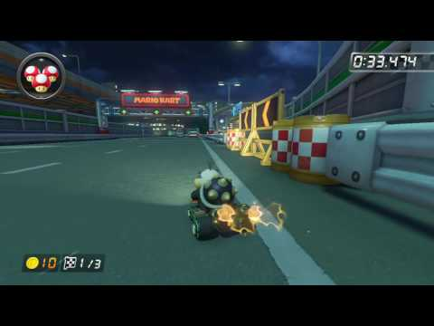 N64 Toad's Turnpike - 1:39.323 - Kyle Wade (Mario Kart 8 World Record)