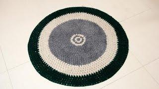 Как связать круглый коврик крючком советы  для начинающих