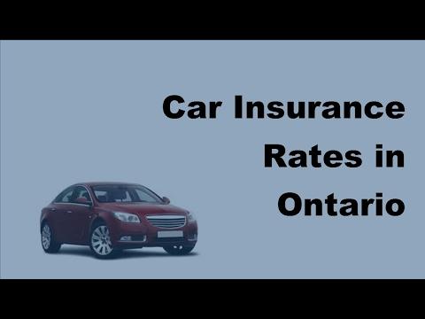 2017 Motor Insurance Rates  -  Why Ontaria Has Highest Motor Insurance Premium Rates