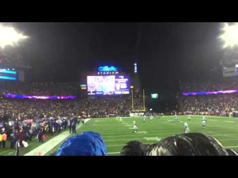 Scott Zolak Fires Up Gillette Stadium