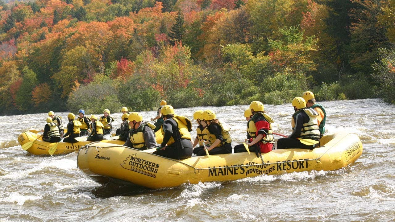 Fall Foliage in Maine: White Water Rafting, ATV Trails