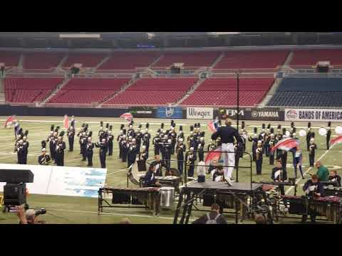 Bands of America/Holt high school band