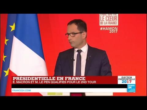 """REPLAY - Benoît Hamon : """"J'appelle à battre l'extrême droite en votant pour Emmanuel Macron"""""""