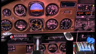Flight Simulator FSX-Senaca departs from Catalina Island California