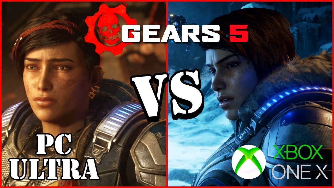 Gears 5 Graphics Comparison - Xbox One X vs PC Ultra Settings