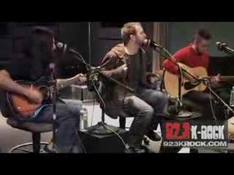 Finger Eleven  Paralyzer Acoustic on KRock