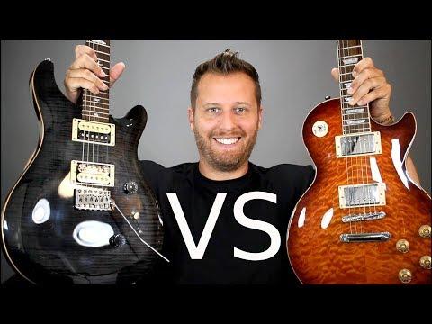 LES PAUL vs PRS CUSTOM 24! - Guitar Tone Comparison!
