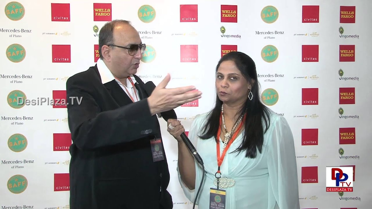 Actor,Director & Producer Vivek Vaswani  speaking to Desiplaza TVSouth Asian Film Festival