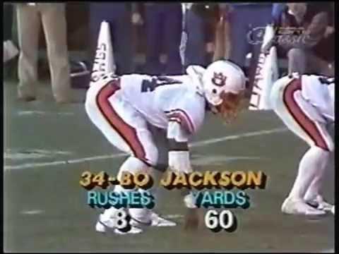Bo Jackson Sweet Home Alabama 1982 83 Auburn Seasons