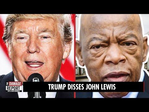 Trump DISSES Civil Rights Hero John Lewis