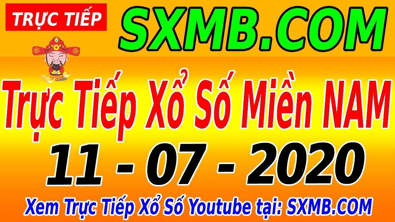 XSMN TRỰC TIẾP XỔ SỐ MIỀN NAM HÔM NAY THỨ 7 NGÀY 11/07/2020, KQXS MIEN NAM