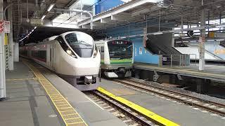 常磐線 E657系特急ひたち13号いわき行き 品川駅発車