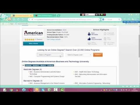 American Business and Technology University | online graduation