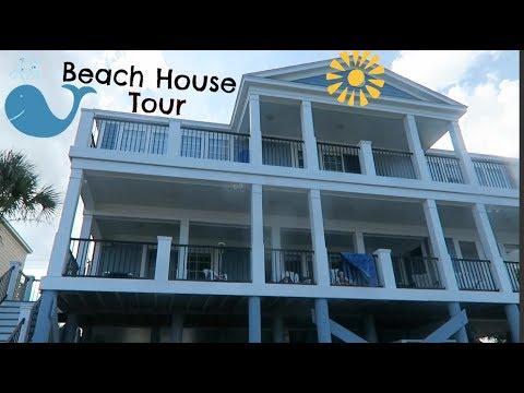 BEACH HOUSE TOUR!!