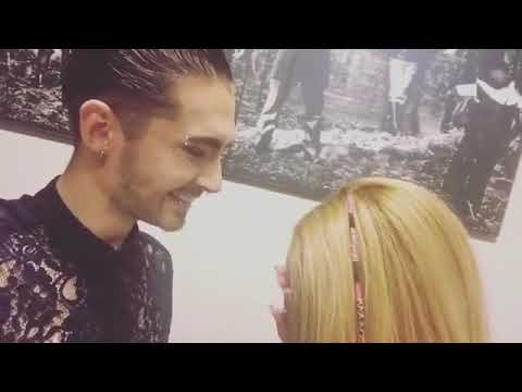 """Bill Kaulitz remember the lyrics from """"in die nacht"""" and chocolate kiss 💋💋💋💖💖💖💕💕💞💞💞"""