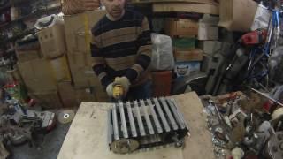 Как сделать снегокат с мотором. (часть 3)