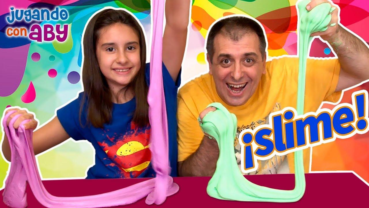 Por Fin Hago Slime Pido Permiso A Jordi Y Bego Fluffy Challenge Youtube