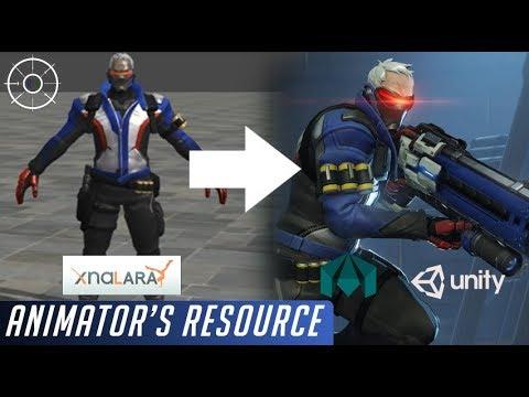 How to CONVERT XNALARA Models (OBJ, FBX) & RIG Them -Animator's Resource