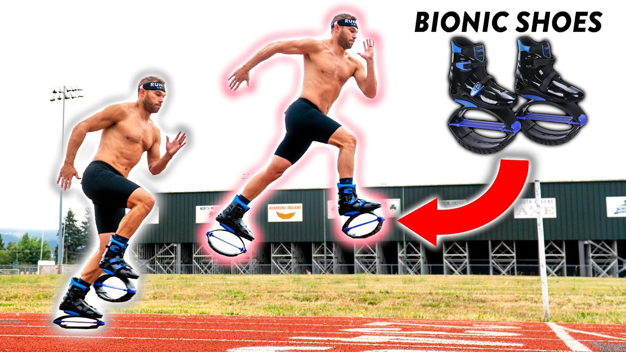 Bionic Man Attempts 1 Mile World Record... AGAIN!!