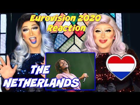 🇳🇱 The Netherlands Eurovision 2020 Reaction | Jeangu Macrooy - Grow | ESC House of DMaaj