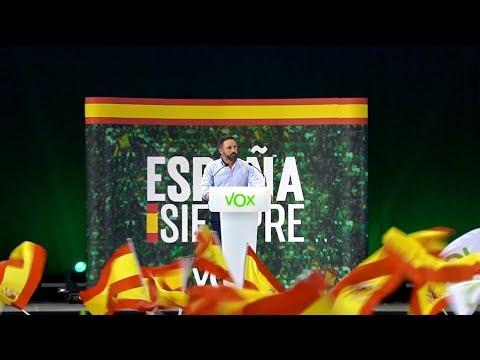 Acto en el Pabellón Príncipe de Asturias - Santiago Abascal en Murcia | #EspañaViva | 27-10-2019