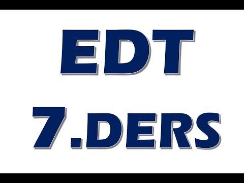 EDT 7.Ders Elektrik Devre Temelleri