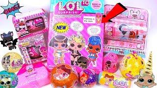 LOL Surprise Unboxing! МАГИЧЕСКИЙ НАБОР КУКЛЫ ЛОЛ ХАЕРГОЛС СЮРПРИЗЫ РАСПАКОВКА Мультик FAKE Doll