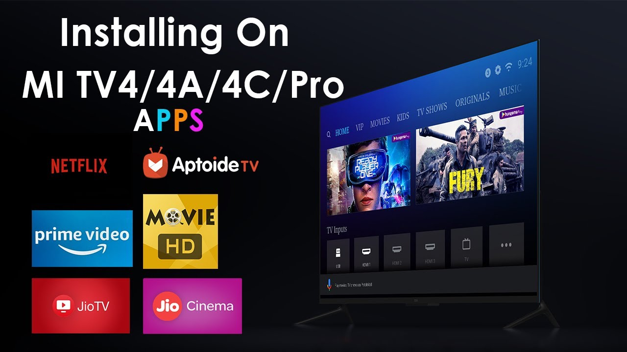 How To Insatll Apps On MI TV 4/4A/4C/Pro - NETFLIX & Prime Video & More