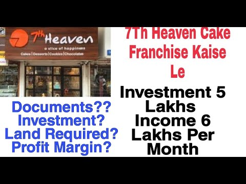 7th Heaven Cake Franchise In Lowest Investment