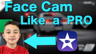 How to add green screen face cam iMovie . Face cam Tutorial iMovie