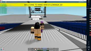 WWE Neville Wrestle Mania 33 Entrance (Roblox Recreation)
