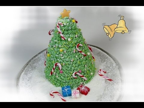 3d Tannenbaum Motivtorte Weihnachtsbaumtorte Von Nicoles