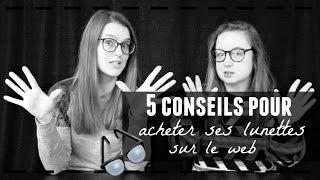 5 conseils pour acheter ses lunettes en ligne!