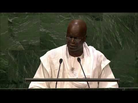 Download Allocution du Président du CNT Chériff SY aux Nations Unies
