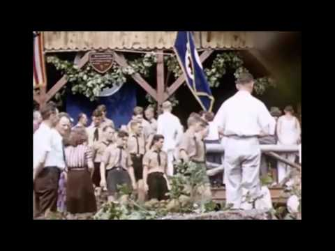 German American Bund Camp Bergwald Filmed by a Drone