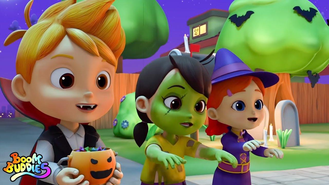 Merhaba Cadılar Bayramı | Cadılar bayramı tekerlemeleri | Kids TV Türkçe | Animasyonlu videolar