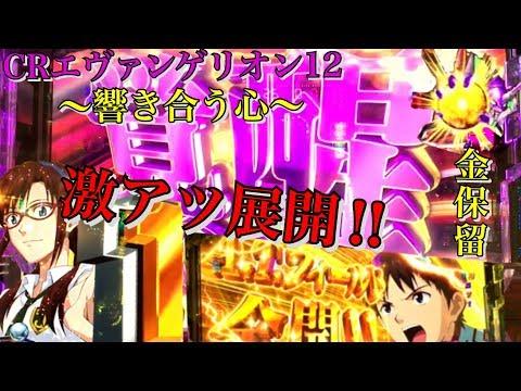 CRエヴァンゲリオン12~響き合う心~ 覚醒ゾーンや暴走ZONEさらに金保留も出現!!その後の結果は!?