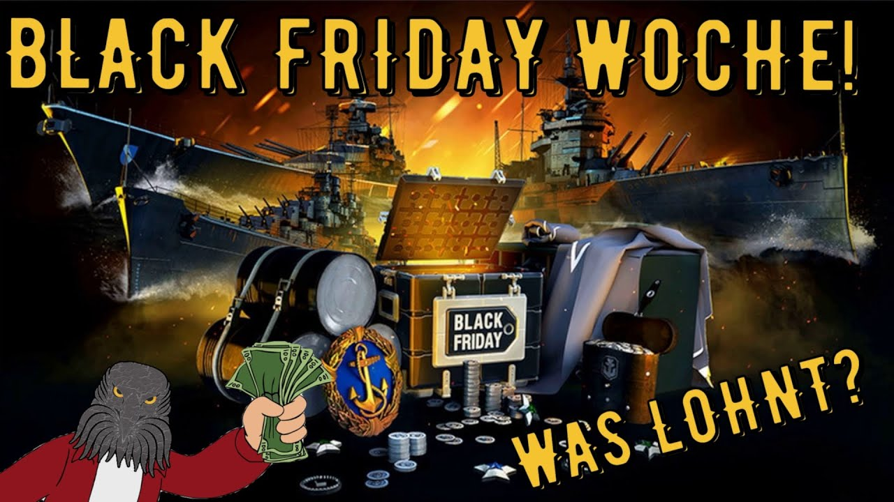 World Of Warships Legends Black Friday Woche Was Lohnt Deutsch Gameplay Youtube