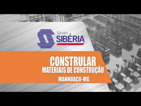 Projeto 3D - Constrular Materiais de Construção - Manhuaçu/MG
