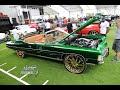 Whipaddict: Kandy Green 71' Chevy Impala Vert On All Gold Forgiato 26s, Peanut Butter Interior
