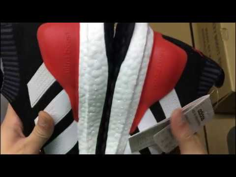 best sneakers d8189 d6ec6 NEW 2017 UA Adidas ACE 16+ Purecontrol Ultrab Black Red BY9087