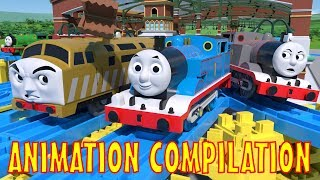 TOMICA Thomas and Friends: Animation Compilation! (Short 3951 inc. Unstoppable, Timothy and more!)