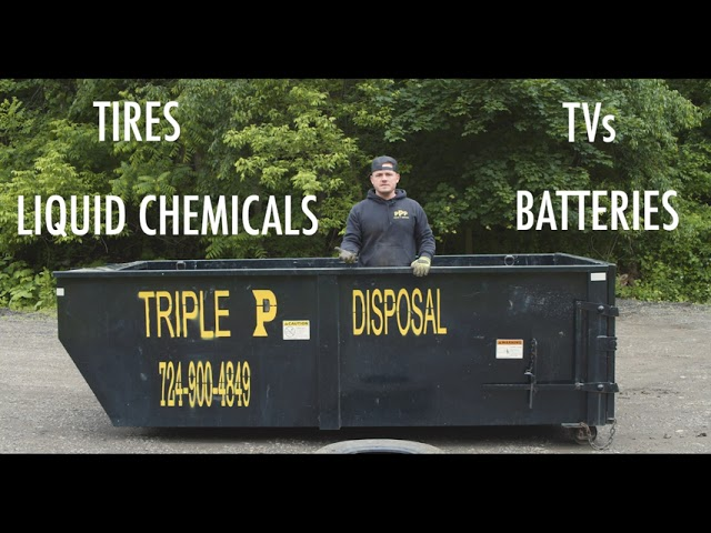 4 Items To Avoid Throwing In Your Dumpster