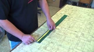 Postup měření houpačky příprava 1