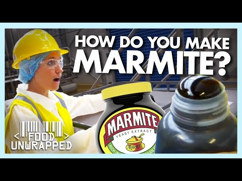 What 'Black Magic' goes into making Marmite? | Food Unwrapped