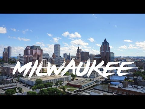 Milwaukee Wisconsin 4K Drone Video
