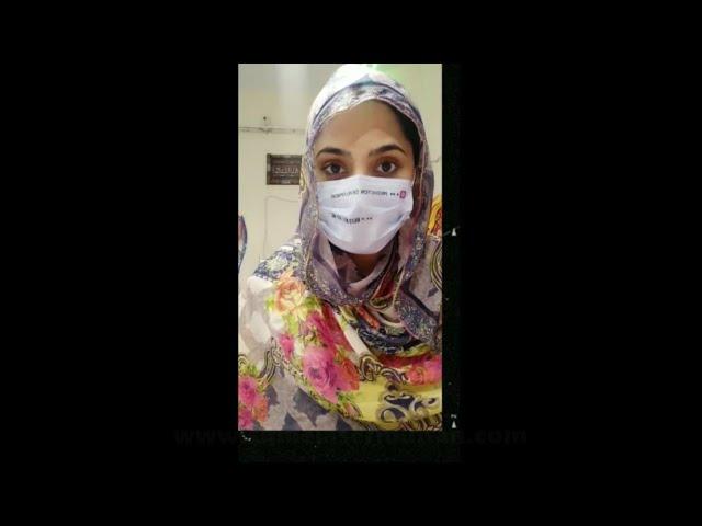 Femto LASIK Review of Shanza at SMILE Laser Eye Centre Multan