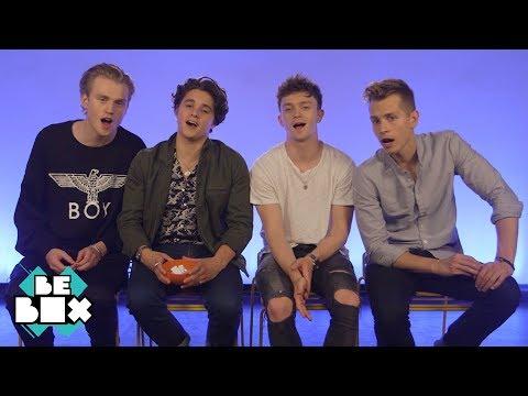 The Vamps play 'Finish The Lyrics' | BeBoxmusic