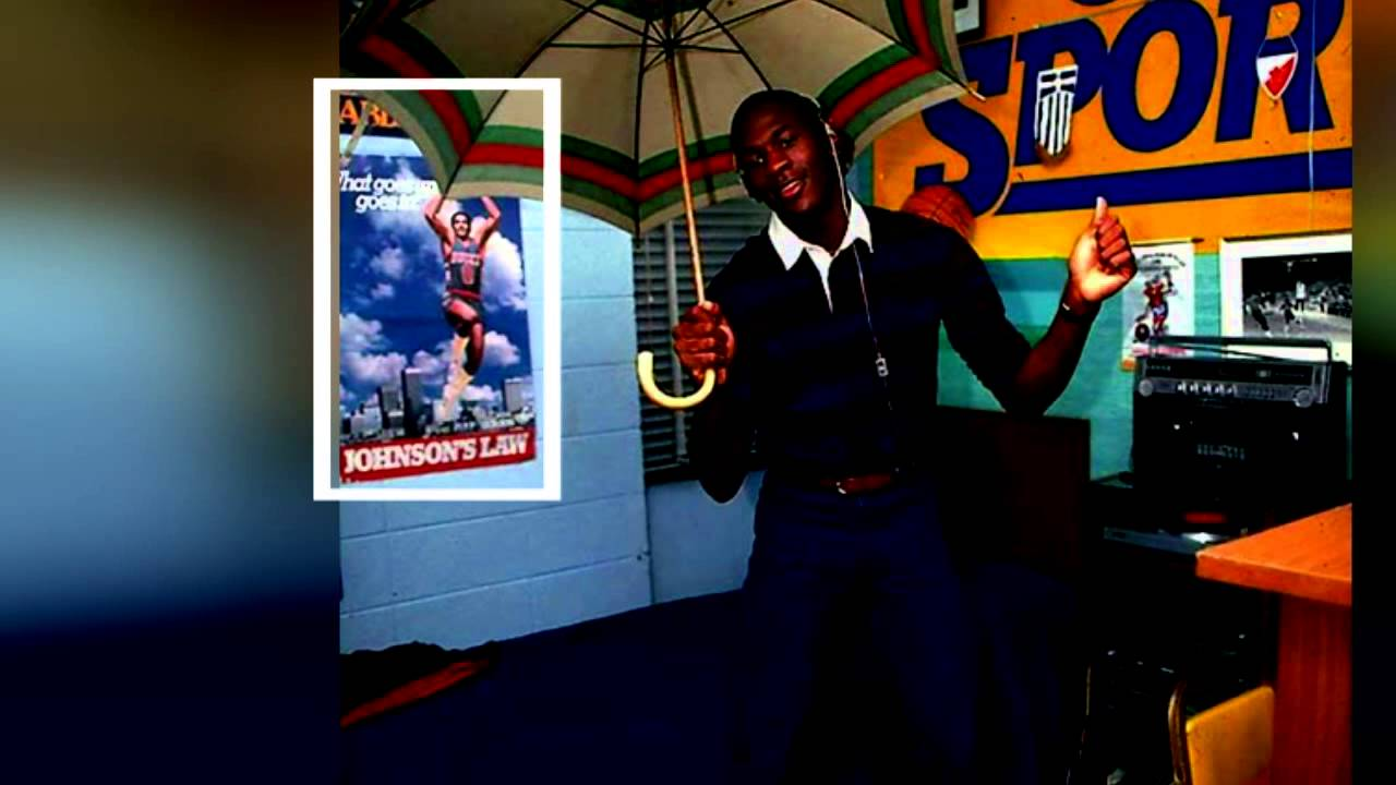 Marques Johnson on his poster being on Michael Jordan s wall