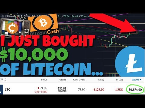 I Just Bought $10,000 Worth Of Litecoin RIGHT NOW, Let Me Explain Why - BitcoinCash Rally Soon? 7